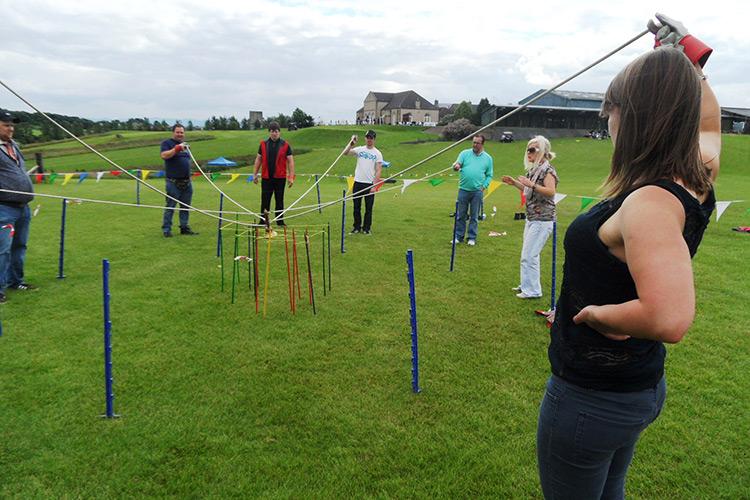 Team challenge at Forrester Park